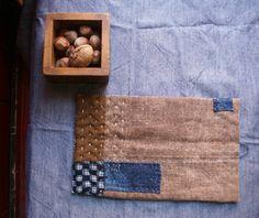 hand sewn table mat trivet pot holder in antique by lesamovar