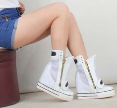 New arrival: Fashion ankle boo... Buy it now: http://simplysonya731.net/products/fashion-ankle-boots-zip-breathable-platform-wedges?utm_campaign=social_autopilot&utm_source=pin&utm_medium=pin
