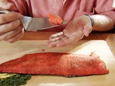 Get this all-star, easy-to-follow Broiled Sockeye Salmon with Citrus Glaze recipe from Alton Brown