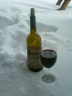 "Patty Skelton of Bridgewater says ""Relax and enjoy the finer things in life!"" #WHSVsnow"