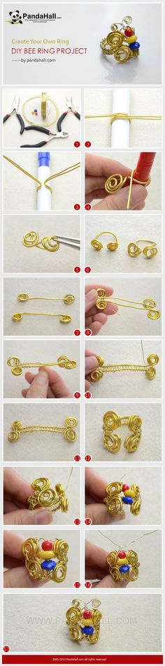 Create Your Own Ring - #DIY Bee Ring Project
