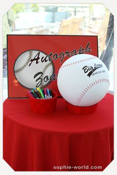 baseball themed bar mitzvah ideas - Google Search
