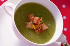 Callaloo soup is a popular soup in the Caribbean.