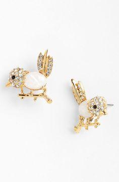 Cara Bird Stud Earrings