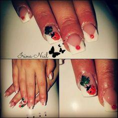Extension nail art by Irina Nail