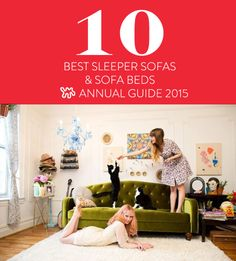 Top Ten: Best Sleeper Sofas & Sofa Beds — Apartment Therapy's Annual Guide 2015