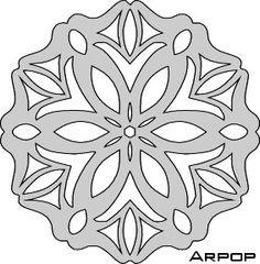 Patterns ornamento do Natal