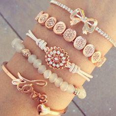 Rose Goddess #Bracelet Stack #ChichiMe