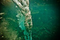 Neil Craver - Omni Phantasmic plunging into water