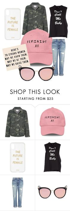 """Women's March January 20, 2018"" by stylebycbela on Polyvore featuring McGuire, Sonix, Goldie, Current/Elliott and Stephane + Christian"