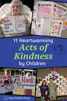 We can all learn by the example these children around the globe are setting with their kindness and compassion. Wonderful acts of kindness to build character at home and in the classroom. Teaching Character, Character Education, Character Counts, Character Development, Classroom Community, Special Education Classroom, Kindness Projects, Leader In Me, Building For Kids