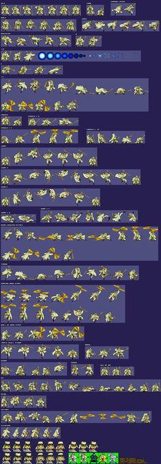 2d Game Character Design Tutorial : Samurai sprites showdown sheets to arm
