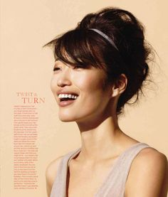 ASIAN MODELS BLOG: Jihae Kim in Editorial for O, The Oprah Magazine, July 2010