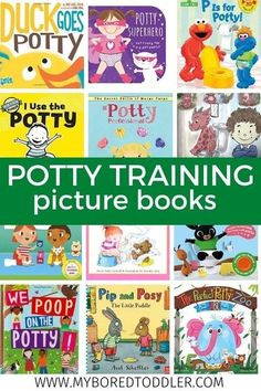 20 Potty Training Books for Toddlers #myboredtoddler #pottytraining #toddlerbooks #picturebooks #parenting #parentingtips Preschool Books, Kids Learning Activities, Preschool Activities, Toddler Play, Toddler Gifts, Toddler Preschool, Potty Training Books, Toddler Potty Training, Best Toddler Books