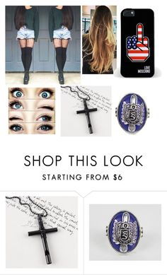 """""""Untitled #225"""" by jess-the-kitten ❤ liked on Polyvore featuring Trend Cool and Love Moschino"""