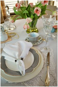 Rosemary and Thyme: Tablescapes ~ A French Inspired Table