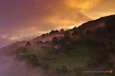 Sonnenaufgang im Tal von Aldudes