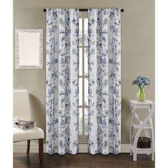 Dahlia Indoor/Outdoor Curtain Panels (Set of 2)