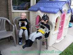 Shannon Makes Stuff: The Best Ever Batman Costume and Pajamas