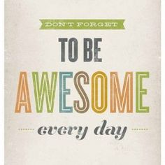 be awesome!!