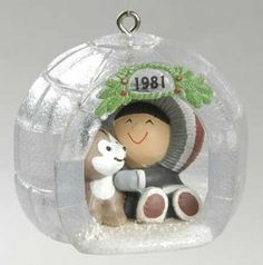Frosty Friends Hallmark Christmas ornaments
