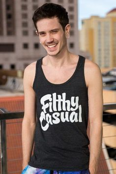 Filthy Casual Black Tank