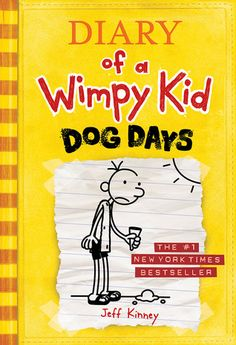 Dog Days by Jeff Kinney Reviewed by Tyler and Reggie  Let us tell you about a great book called Dog Days. It is really funny. It's about a wimpy kid in middle school named Greg. He goes to the boardwalk with his best friend Rowley. We recommend this book because it is funny and Greg is wimpy.