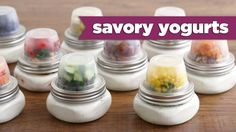Here are 10 crazy yogurt combinations– sweet & savory! I hope you enjoy these healthy snack ideas! ★ SUBSCRIBE for new episodes every Thursday! http://bit.ly...