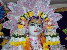 Sri Radha Close up wallpapers from ISKCON Allahabad
