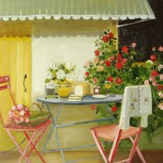 Janet Hill. Very good description for this picture from Janet Hill art.