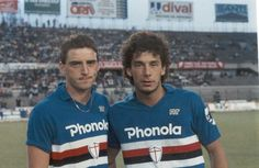Mancini + Vialli.