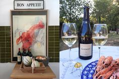 Champagne, langustines et l'entrecôte // Blogpost auf www.auxbulles.at/blog