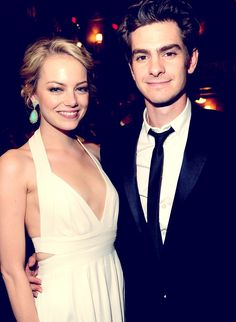 Emma Stone and Andrew Garfield <3
