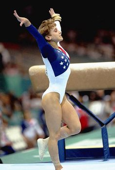 One of my favorite all time moments in sports history: Kerri Strug, 1996 Olympic games, vaulting on a hurt ankle to win the gold for the USA. Incredibly inspiring.