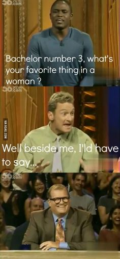 Bachelor/ whose line is it anyway funny