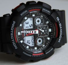 Casio G-Shock X-Large Combi GA100 Watch Review Wrist Time Reviews