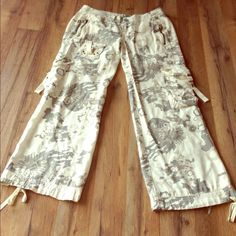 Selling this Miss Me cream cargo camouflage pants SOLD OUT! in my Poshmark closet! My username is: purpleoceanvtg. #shopmycloset #poshmark #fashion #shopping #style #forsale #Miss Me #Pants