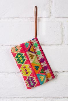 ZIPPER POUCH - Colorful, boho, gypsy, & handmade peruvian bag (authentic and popular)