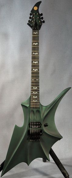 Ed Roman Abstract Rockingbat Guitar