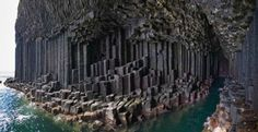 Fingal's Cave, Scotland by BoricuaButterfly