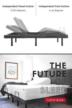 Our needs are forever evolving, treat yourself to a bed that can keep up. Elevate your sleep, health, and lifestyle with the best-selling adjustable base on the internet.