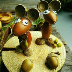 Crab Crafts, Acorn Crafts, Pine Cone Crafts, Diy And Crafts, Autumn Crafts, Nature Crafts, Natural Christmas, Christmas Crafts, Diy For Kids