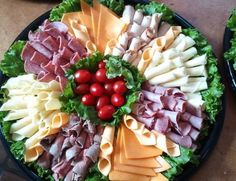 Build your own sandwich meat/cheese spread.