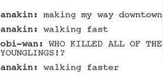 """""""making my way downtown, walking fast"""" """"WHO KILLED ALL THE YOUNGLINGS"""" """" walking faster"""""""