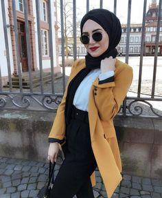 Muslim Fashion, Hijab Fashion, Fashion Outfits, Hijab Wear, Hijab Outfit, Scarf Styles, Hijab Styles, Hijab Chic, Fashion Couple