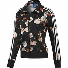 NEW ADIDAS Originals Women's FIREBIRD ROSES TRACK Jacket Flowers Medium