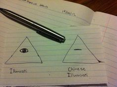Chinese illuminati  - funny pictures #funnypictures