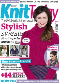 Knit Today Issue 96 2014 - 轻描淡写的日志 - 网易博客