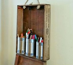 s 19 little known ways to use your wasted wall space, organizing, storage ideas, wall decor, Hang crates boxes as extra shelf space