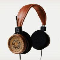 Grado Headphones made of Bushmills Barrels   Cool Material